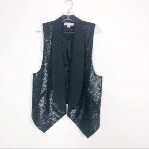 MICHAEL KORS stunning Vest size S sequins